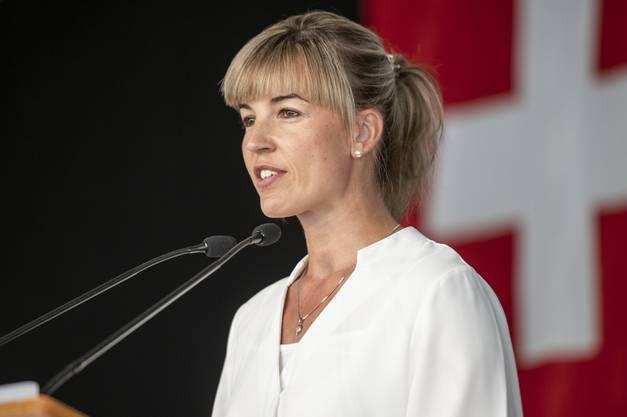 SVP-Nationalrätin Diana Gutjahr