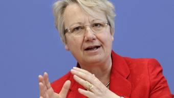 Ehemalige deutsche Bildungsministerin Annette Schavan (Archiv)