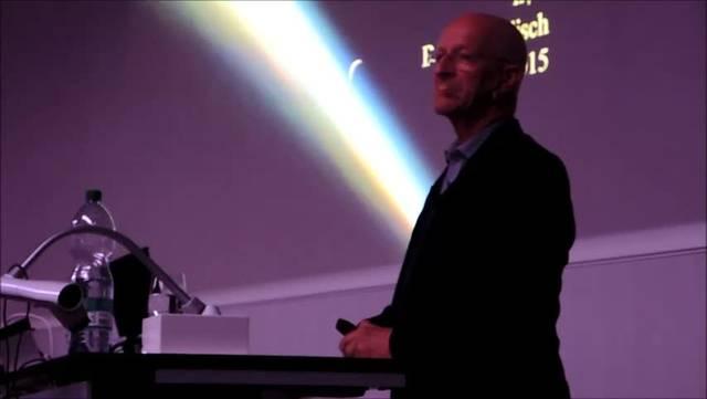 Claude Nicollier referiert über seine Erfahrungen im Weltraum