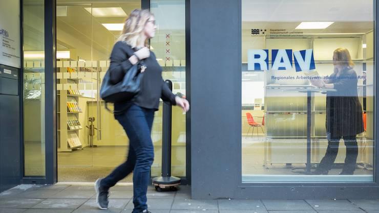 Die RAV-Zweigstellen – wie hier in Baden – sind noch nicht bereit für die Bewältigung des Inländervorrangs.