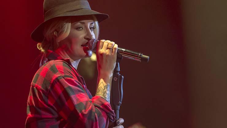 Sängerin Sarah Connor - hier bei einem Auftritt in Basel im Oktober 2015 - erwartet im Januar ihr viertes Kind.