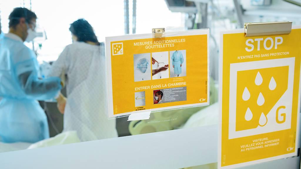 Gesundheitspersonal protestiert in Frauenfeld und St.Gallen