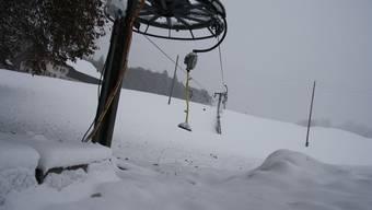 Der erste Schnee in tiefen Lagen im Kanton Solothurn