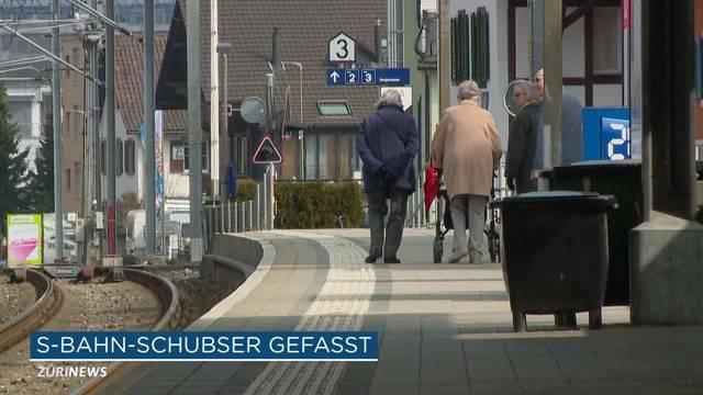 S-Bahn-Schubser verhaftet