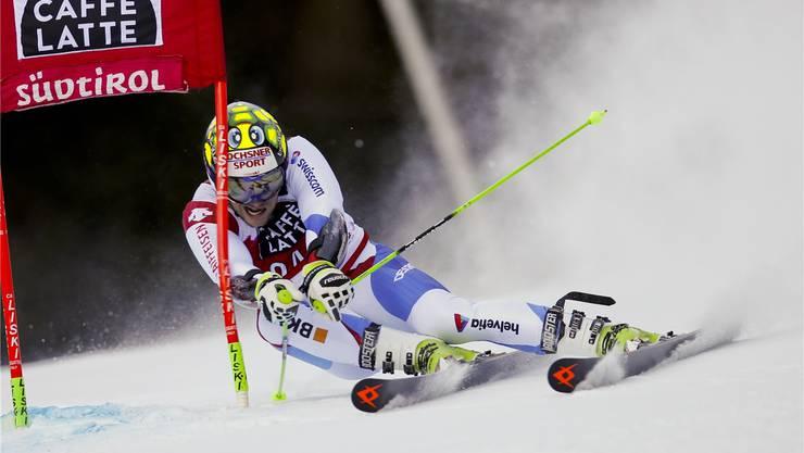 Justin Murisier holte für Swiss Ski auch in Val Gardena wieder einmal die Kohlen aus dem Feuer.keystone