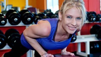Nicole Müller-Boder ist SVP-Grossrätin und Fitnessinstruktorin.