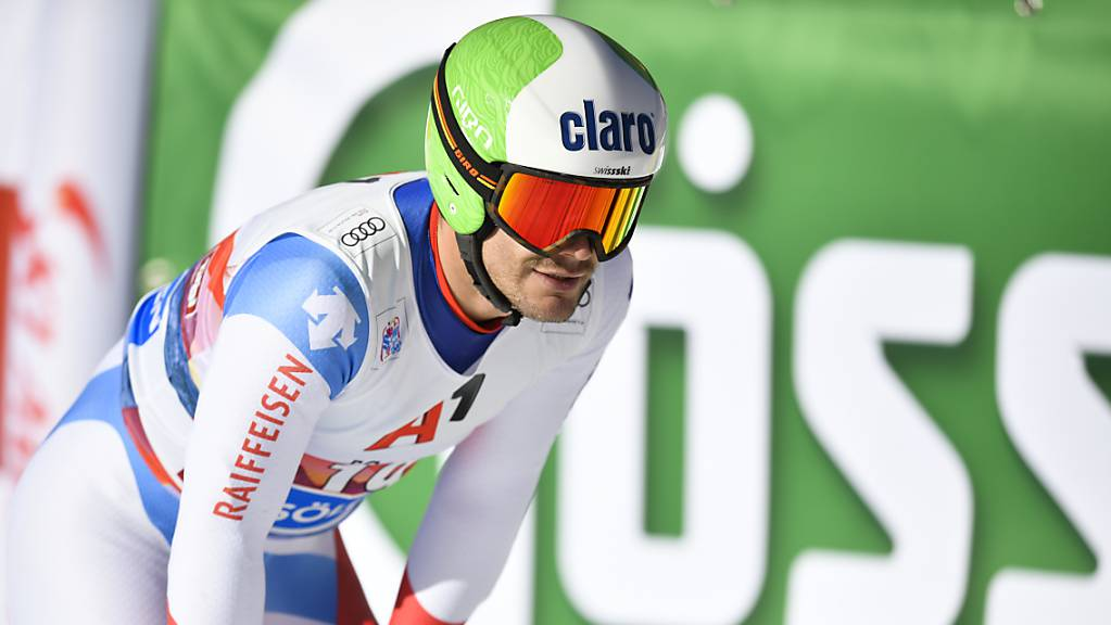 Schmerzen im Rücken: Thomas Tumler kann nach einem Bandscheibenvorfall derzeit nicht Ski fahren