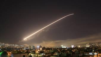 Raketenangriffe der westlich geführten Anti-IS-Koalition auf Damaskus. (Archivbild)