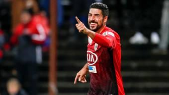 Mit zwei Toren und einem Assist war Aaraus Stürmer Alessandro Ciarrocchi der Mann des Spiels.
