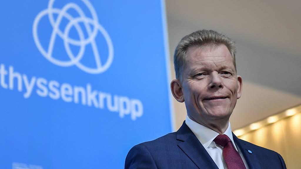 Thyssenkrupp-Chef Kerkhoff soll wieder gehen