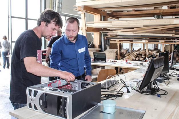 In Wohlen fand am Samstag, 3. April, das erste Reparaturkaffee statt
