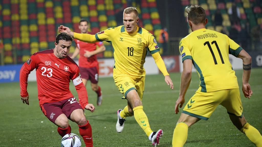 Die Schweiz gewinnt gegen Litauen souverän mit 4:0