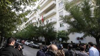 Paketbombe in der Schweizer Botschaft in Athen
