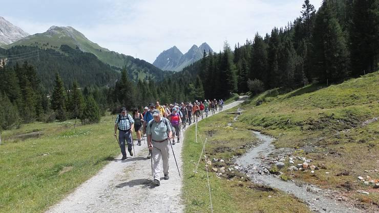 Wanderung von Preda nach Bergün