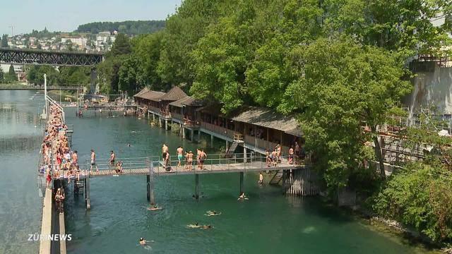 Junge Grüne fordern weitere Limmat-Badi