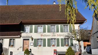 Der «Schlüssel», welcher durch den Verein «Freunde Gasthaus Schlüssel» erhalten werden soll.