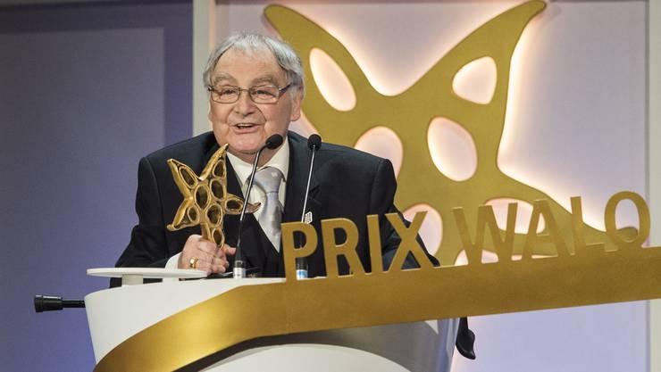 Jörg Schneider freute sich diebisch über den gewonnenen Prix-Walo