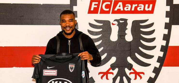 Geoffroy Serey Die ist ab nächster Woche für den FC Aarau spielberechtigt