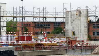 Bau einer Dreifachturnhalle mit Schulraum auf dem Schulareal Steinli in Möhlin – Einweihungstermin steht bereits fest.
