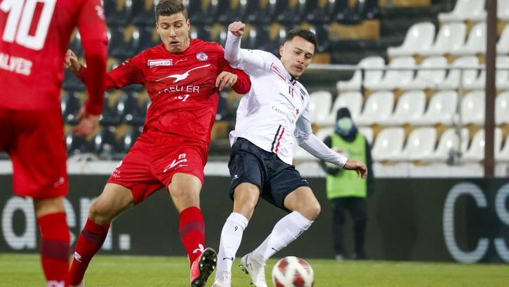 Nach drei sieglosen Spielen wollte der FC Aarau im Brügglifeld gegen Winterthur endlich wieder gewinnen.