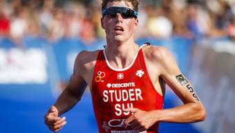 Max Studer gibt in den Niederlanden sein Triathlon-EM-Debüt bei der Elite