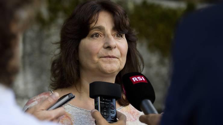 Anna Giacometti, Gemeindepräsidentin von Bregaglia, informierte, dass etwa 60 Personen nach dem Bergsturz für mindestens zwei Monate nicht in die Häuser zurückkehren können (Archivbild).