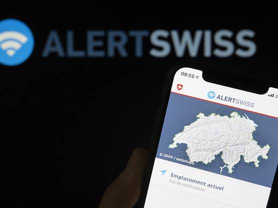 Beim jährlichen Sirenentest vom 6. Februar wird erstmals auch die Alarmierung über die App Alertswiss getestet. (Archivbild)