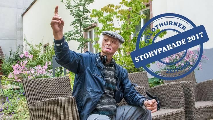Fritz Rudin ist ein Basler Stadtoriginal.