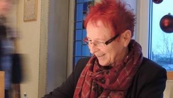 Die 71-jährige Buchautorin Rita Staubli arbeitet seit zehn Jahren bei Hospiz Aargau. Brigitte Santmann Rubin