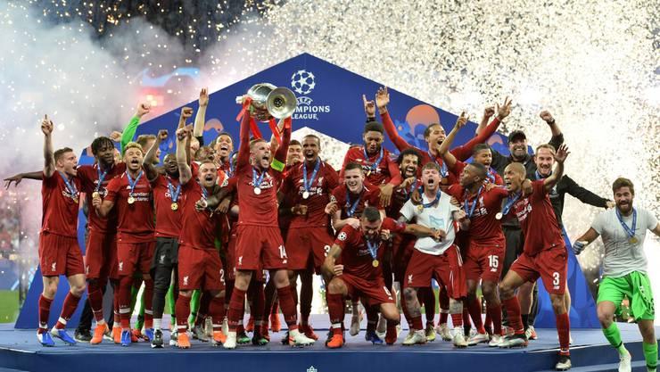 Feuerwerk für den Sieger: Der Liverpool FC hat es wieder geschafft.