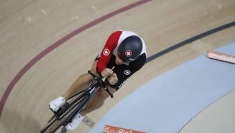Gaël Suter - im Bild an den Olympischen Spielen in Rio de Janeiro - wurde überraschend Europameister im Scratch
