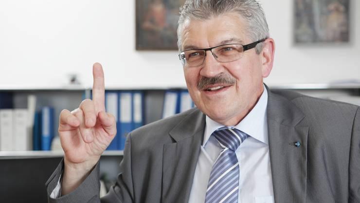 Hat die Kontonsfinanzen fest im Griff: Regierungsrat Roland Brogli.