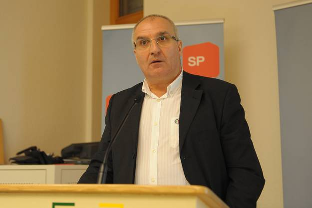 Regierungsratskandidat Daniel Münger.