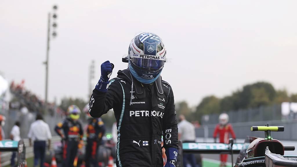Willkommenes Erfolgserlebnis für den künftigen Alfa-Romeo-Fahrer: Valtteri Bottas war am Freitag in Monza der Schnellste