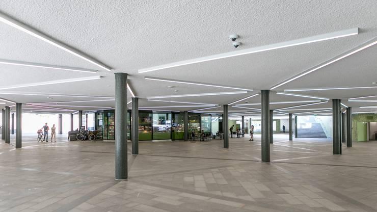 Die Cordulapassage unterhalb des Badener Schulhausplatzes: Die Bilder der Kameras an der Decke liefen direkt auf die Monitore der Stadtpolizei.