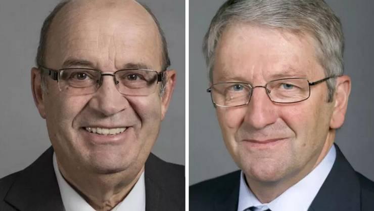 SVP-Nationalrat Christian Miesch und FDP-Nationalrat Walter Müller.JPG