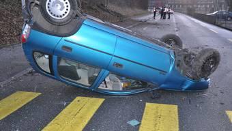 Verkehrsunfall Olten auf der Tannwaldstrasse