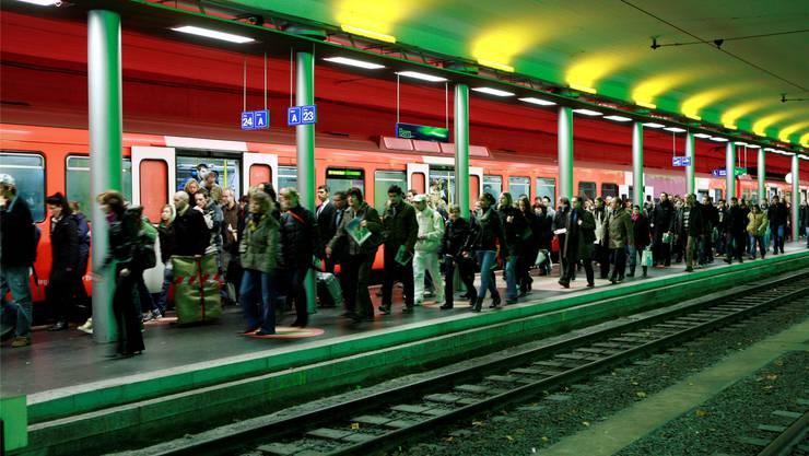 Der RBS-Bahnhof in Bern.
