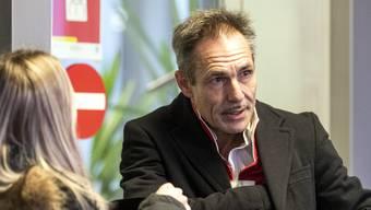 Der Schweizer Extremsportler Freddy Nock erscheint am Obergericht Aargau zu seiner Anklage.