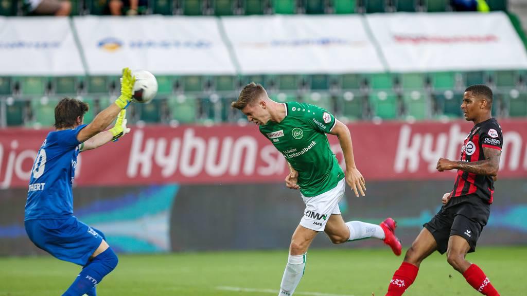Wie der FC St.Gallen Vizemeister wurde