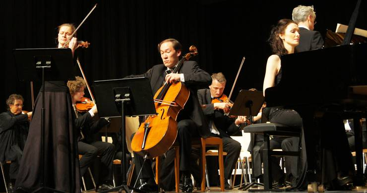 Das Trio Lyra interpretiert Beethovens Tripelkonzert in C-Dur