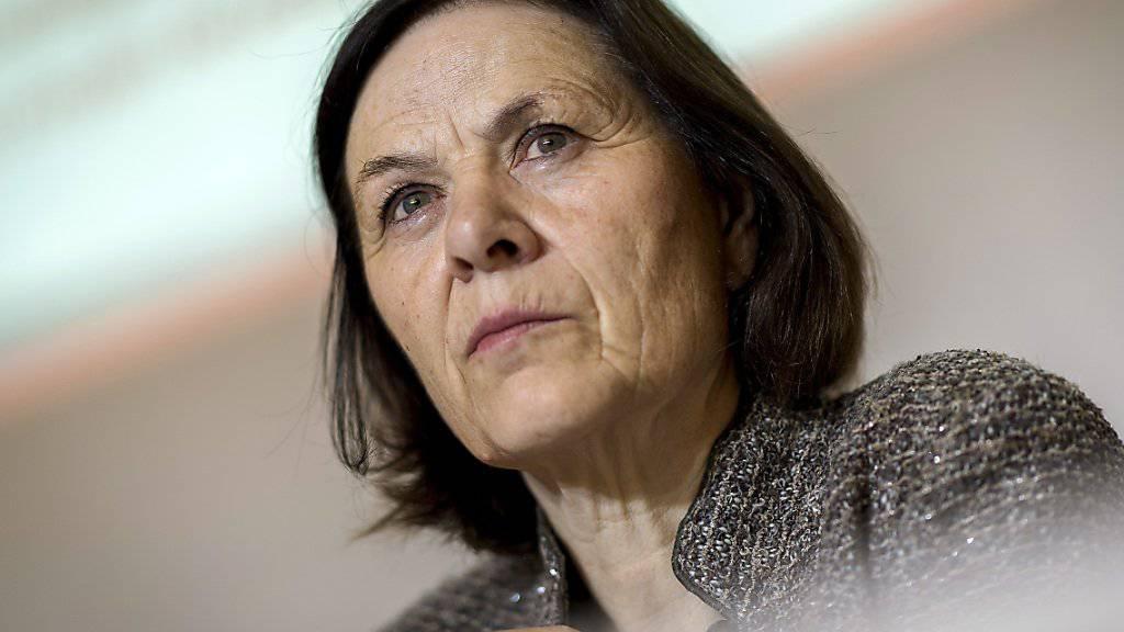 Die Walliser SP-Staatsrätin Esther Waeber-Kalbermatten bekräftigte am Mittwoch, für eine dritte Amtszeit antreten zu wollen. (Archivbild)