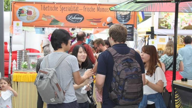 Das dreitägige Food-Festival fand dieses Jahr zum ersten Mal statt.