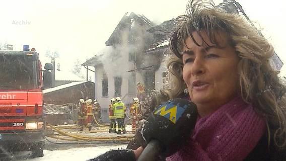 Hausbrand in Reinach
