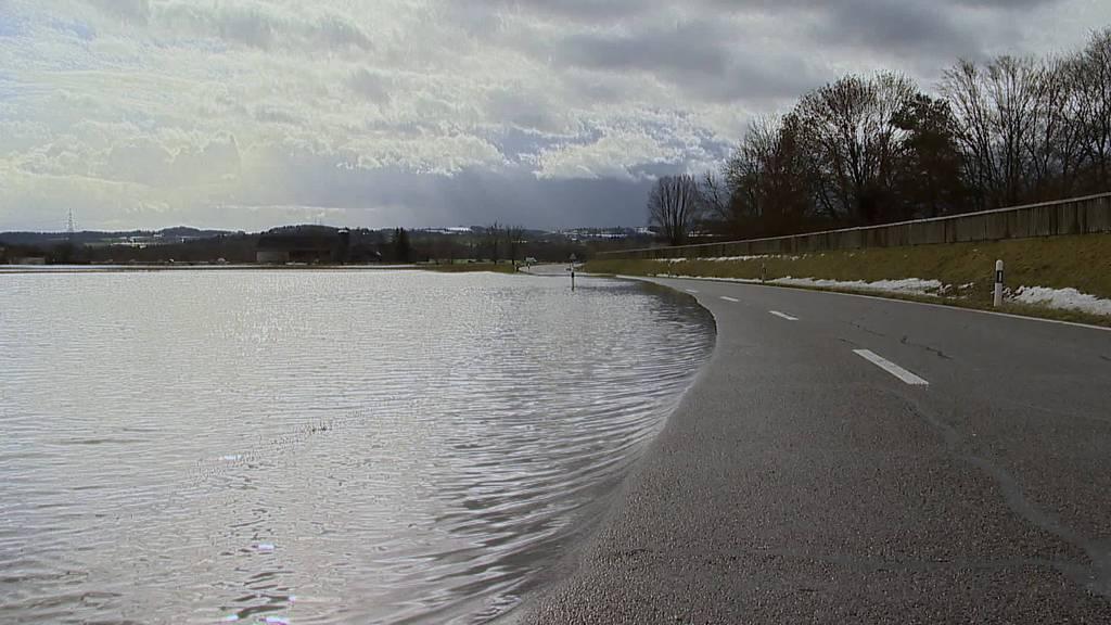 Hochwasser und Lawinengefahr: Die Ostschweiz schmilzt