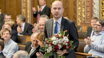 SVP-Grossrat Joël Thüring ist erneut ein Stein des Anstosses in der eigenen Partei.