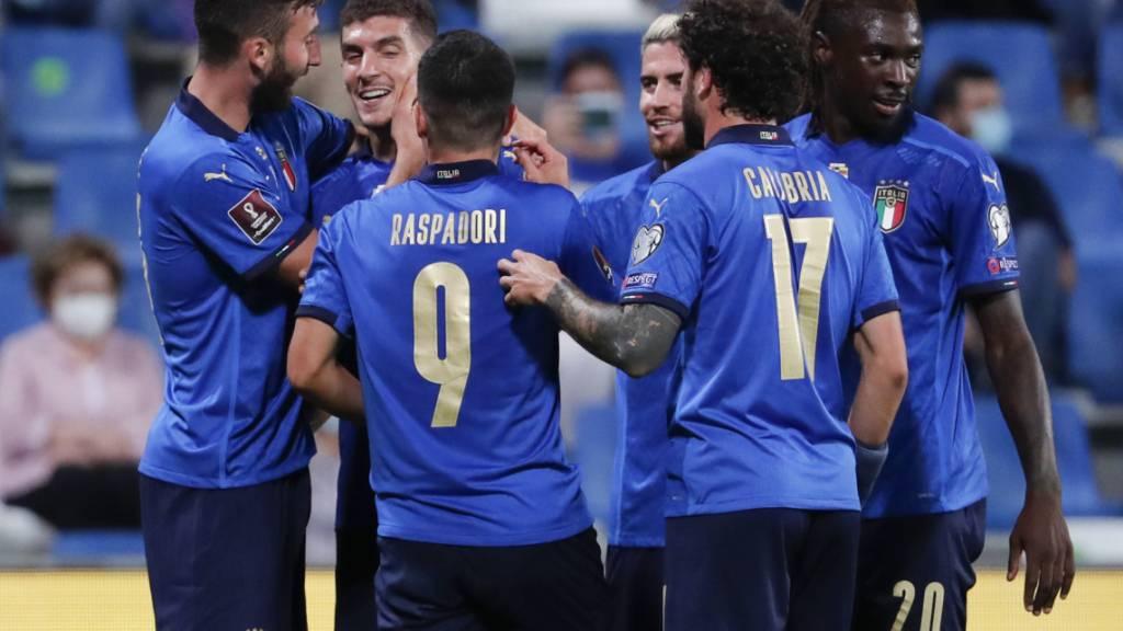 Italiens Ersatzstürmer sorgen für den Pflichtsieg