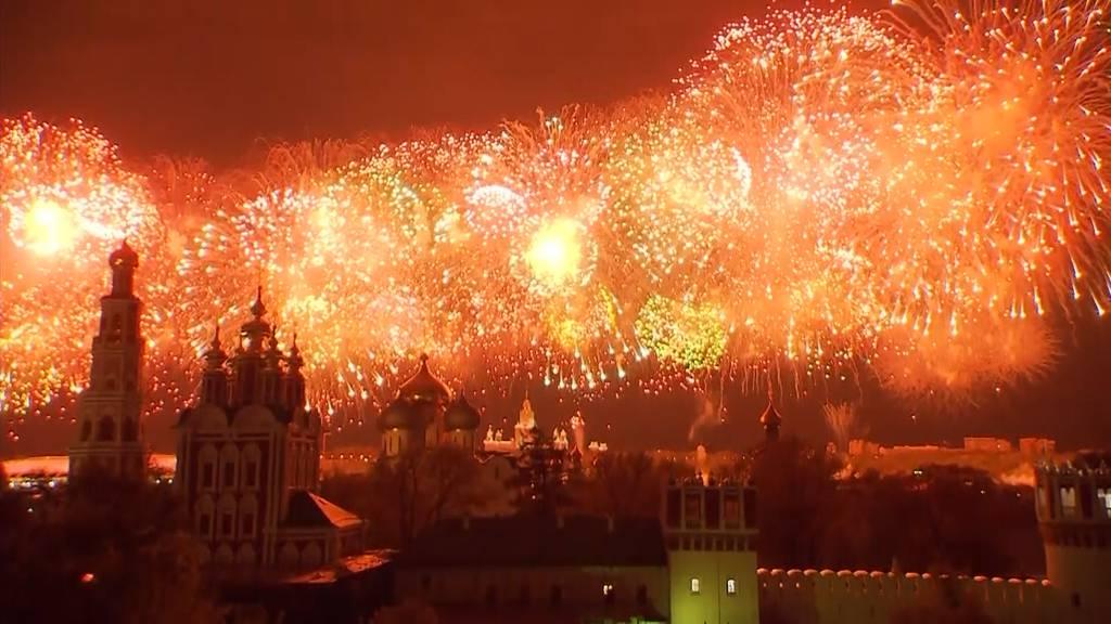 Ex-Sowjetrepubliken feiern Sieg über Hitler