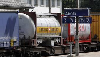 Auf der Gotthardstrecke der SBB rollte am Montag während zwei Stunden kein Zug (Archivbild).