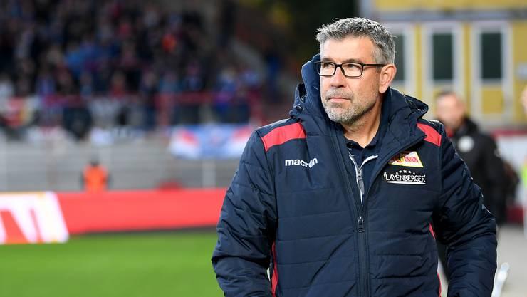 Urs Fischer und sein neuer Club Union Berlin können am 26. Januar nicht gegen den FC Basel testen.